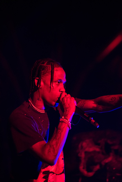 Travis Scott has collaborated with Jay Z, Pusha T, and Meek Mill, among others.
