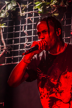 Travis Scott is a stage name. The artist's real name is Jaques Webster, Jr.