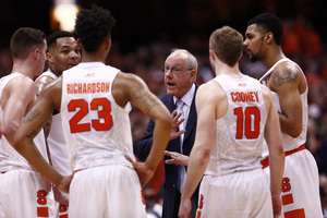 Jim Boeheim said after his team's last loss against Florida State that he would not address his team's NCAA Tournament chances.