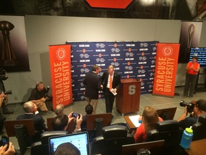 Syracuse announced John Wildhack as the university's 11th Director of Athletics on Tuesday. He sat with The Daily Orange to answer questions about college athletics and SU.