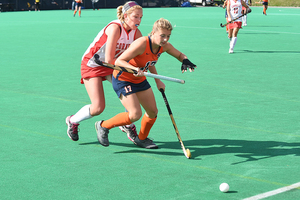Emma Tufts scored a goal in her first start of the season on Sunday.