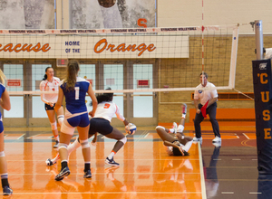 Syracuse lost to Georgia Tech in straight sets while playing without starting outside hitter Mackenzie Weaver.