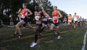 Syracuse men's cross country won the northeast regional on Friday. SU advanced to nationals with the victory.