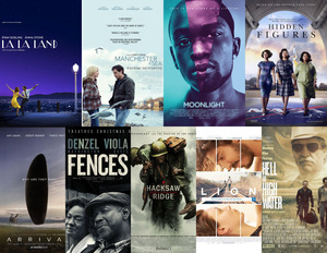 Nine films are nominated for Best Picture for this year's Academy Awards.