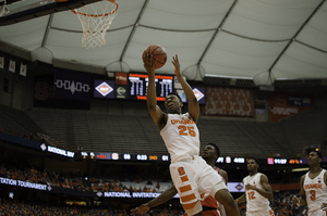 Tyus Battle scored 17 points in 37 minutes in the final game of his freshman season.