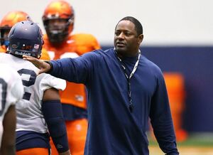 Dino Babers and the Orange defense added a new member to the line on Friday night.