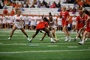Syracuse won on Senior Day by winning, 11-7, over Cornell.