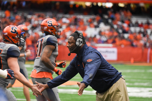 Syracuse football head coach Dino Babers added a three-star running back who had an offer from Louisville, according to multiple reports.