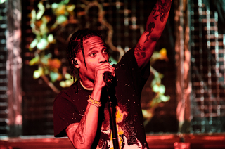 Travis Scott began his music career as a record producer at age 16.
